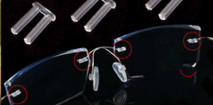 Replacement 1.4mm Nylon Rimless Plugs