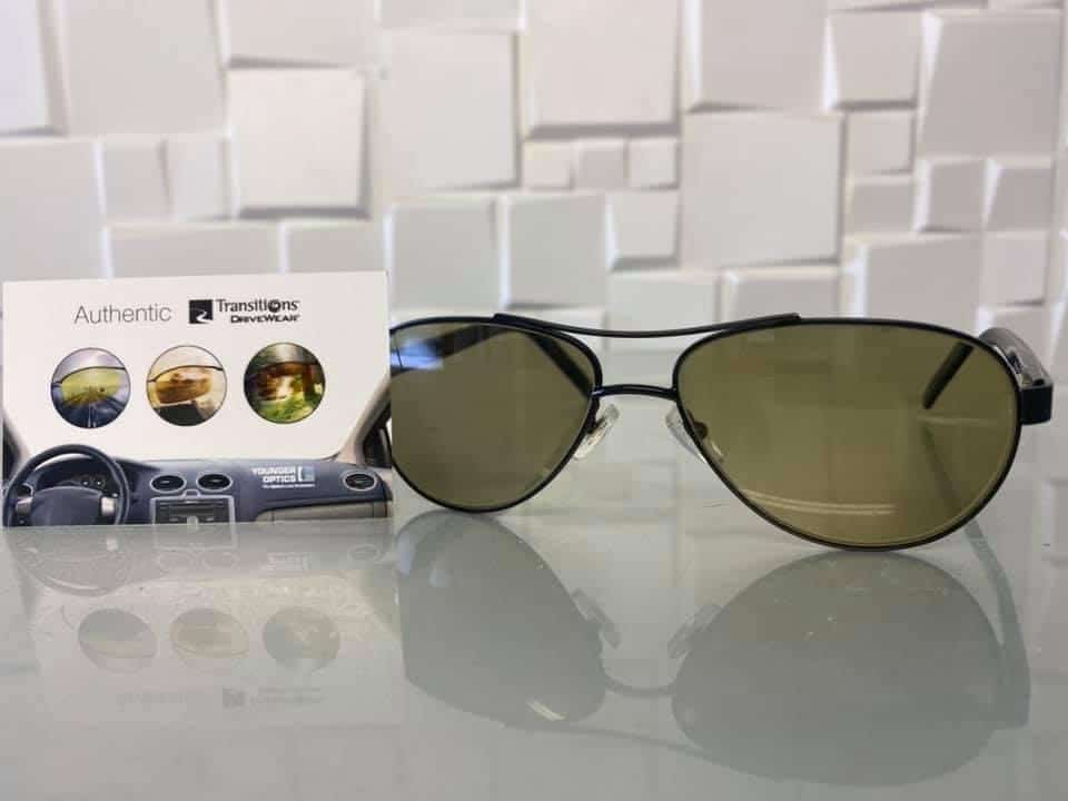 Distance Transitions DriveWear Lenses With Anti Scratch Coating