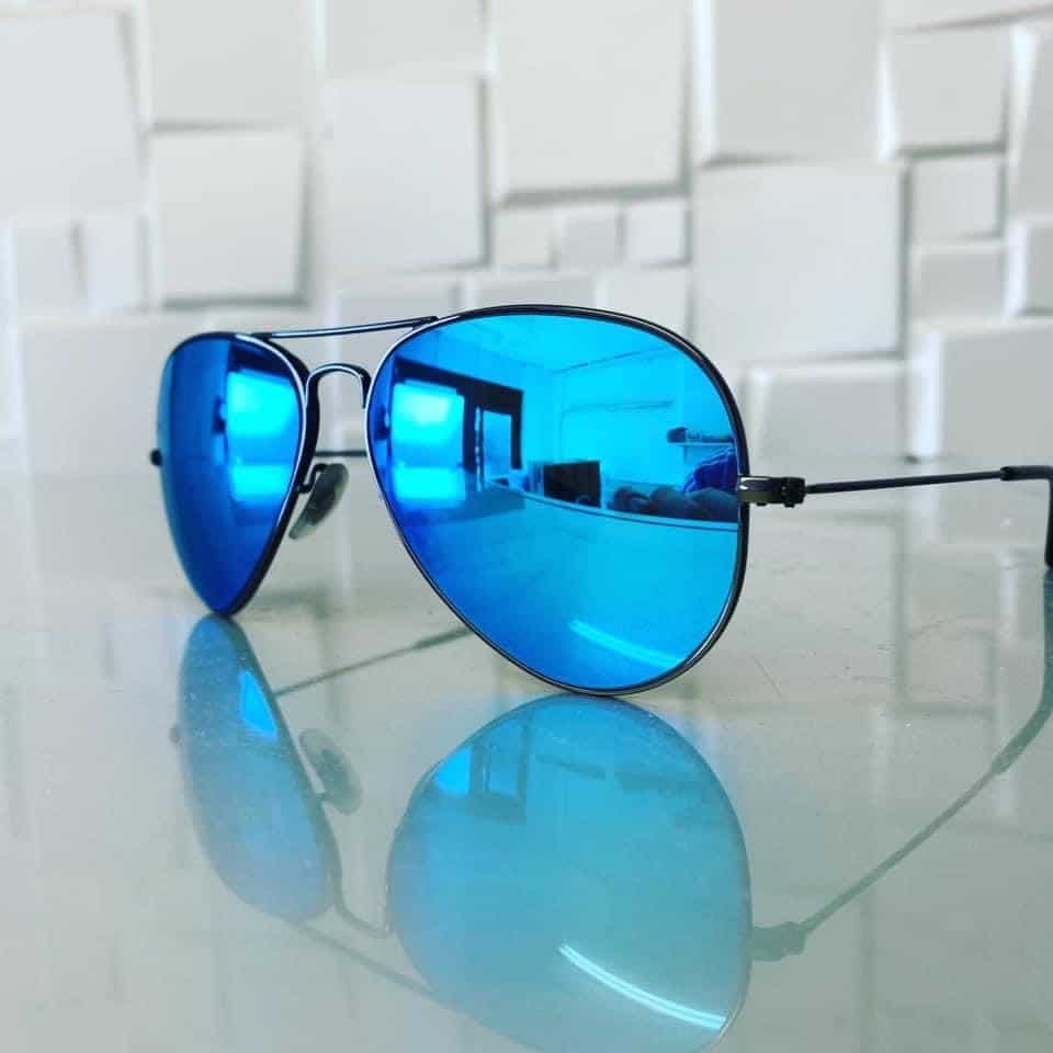 Gold Level Varifocals With Blue Mirror And Back Surface Anti Reflection Coating