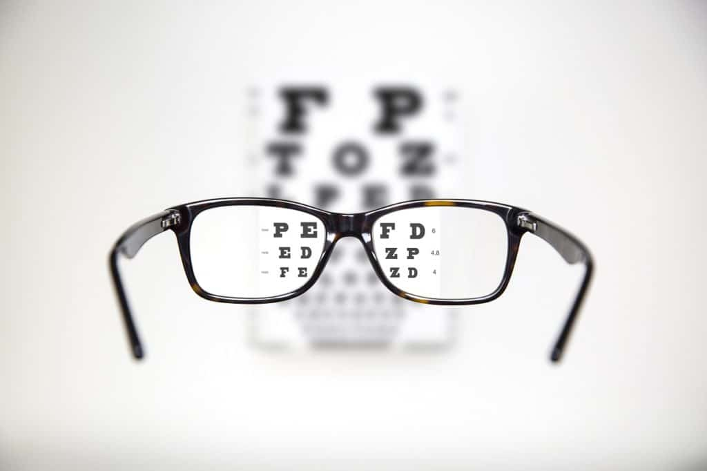 How can I help my eyes adjust to new lenses?